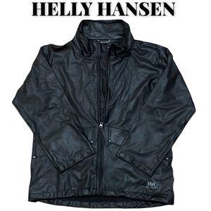 """EUC Helly Hansen Kids Unisex """"Voss"""" Rain Jacket, 8"""